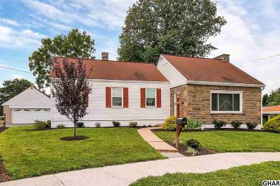 Hershey Single Family Home For Sale: 119 McKinley Avenue
