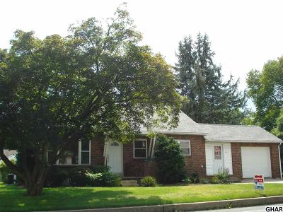Hershey Single Family Home For Sale: 356 Hockersville Rd