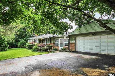 Hummelstown Single Family Home For Sale: 7107 Union Deposit Road