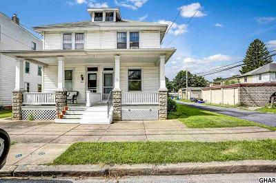 New Cumberland Single Family Home For Sale: 322 Geary Avenue