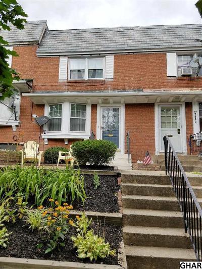 Harrisburg Single Family Home For Sale: 2440 Mercer St