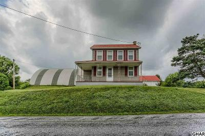 Single Family Home For Sale: 1536 Mountain Road