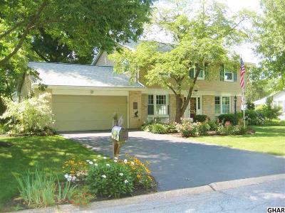 Hershey Single Family Home For Sale: 256 Harvey Road