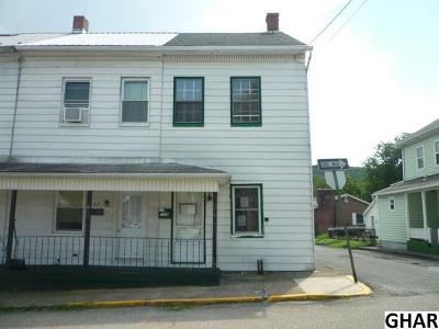 Duncannon Single Family Home Back On Market: 109 Ann Street