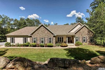 Palmyra Single Family Home For Sale: 341 E Patrick Rd