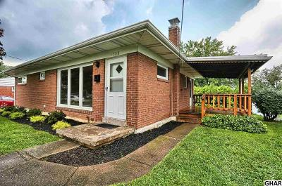 Camp Hill Single Family Home For Sale: 1708 Cornell Rd