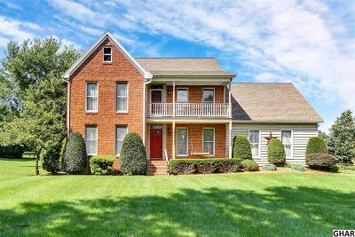 Cumberland County Single Family Home For Sale: 100 E Yellow Breeches Road