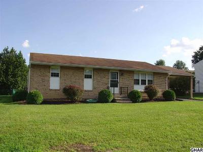 Hummelstown Single Family Home For Sale: 8171 Jefferson Street