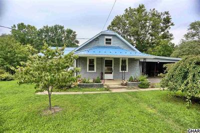 Shermans Single Family Home For Sale: 6566 Spring Rd.