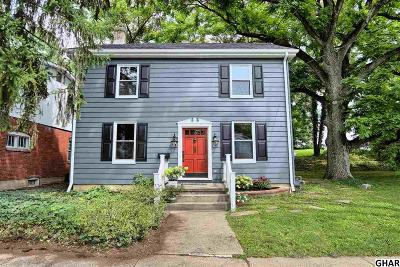 Camp Hill Single Family Home For Sale: 25 N 17th Street