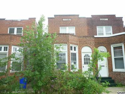 Harrisburg Single Family Home For Sale: 511 Division Street