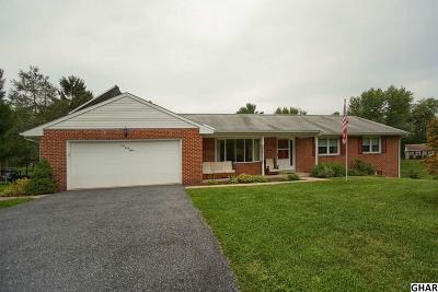 Mechanicsburg Single Family Home For Sale: 4048 Lisburn Road