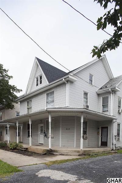 Palmyra Multi Family Home For Sale: 415-417 E Main Street