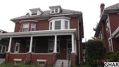 Harrisburg Multi Family Home For Sale: 1842 Market Street