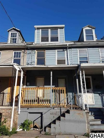 Single Family Home For Sale: 360 Swatara St