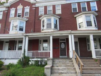 Harrisburg Multi Family Home For Sale: 1504 State St