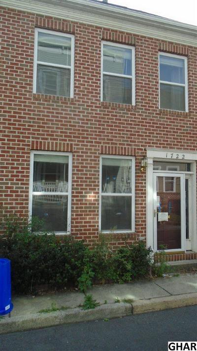 Harrisburg Single Family Home For Sale: 1722 Fulton St