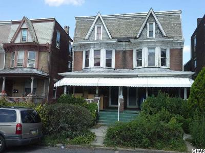Harrisburg Multi Family Home For Sale: 1344 State Street
