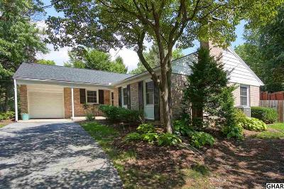Camp Hill Single Family Home For Sale: 349 Blacksmith Road