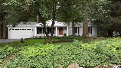 Hershey Single Family Home For Sale: 93 Brownstone Drive