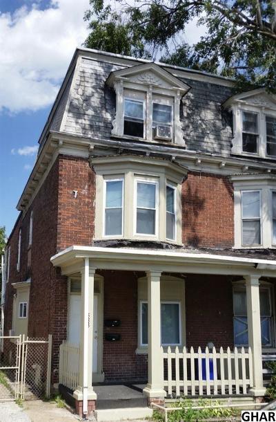 Harrisburg Multi Family Home For Sale: 533 S 19th Street