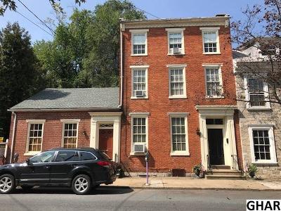 Carlisle Single Family Home For Sale: 42-44 S Pitt Street
