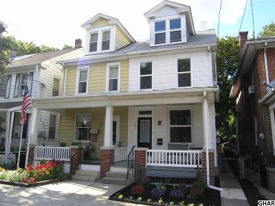 Cumberland County Single Family Home For Sale: 131 Bosler Avenue