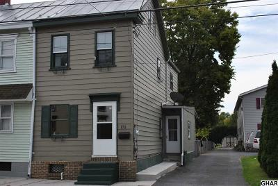 Single Family Home Sale Pending: 172 E South St