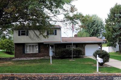 Mechanicsburg Single Family Home For Sale: 603 Park Hills Drive