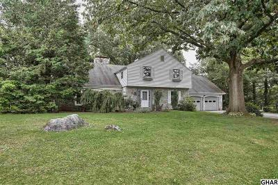 Hershey Single Family Home For Sale: 222 Mine Road