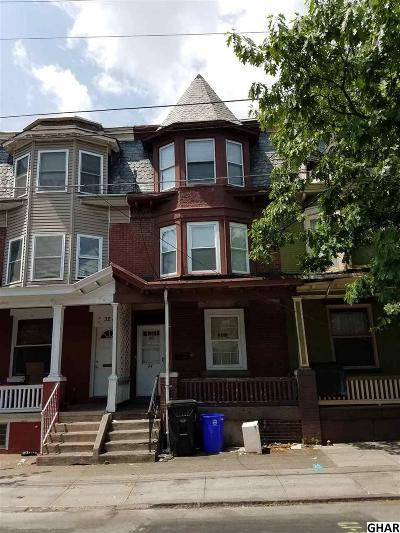 Harrisburg Single Family Home For Sale: 34 N 17th Street