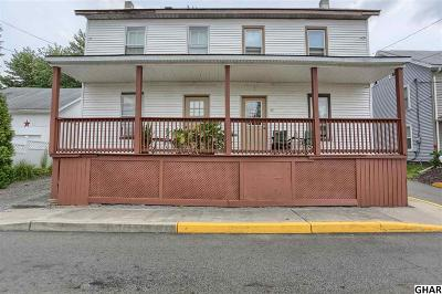 Halifax Single Family Home For Sale: 35-37 N 3rd St