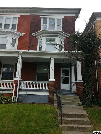 Harrisburg Single Family Home For Sale: 1841 Market Street