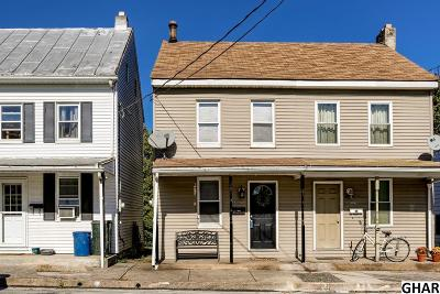 New Cumberland Single Family Home For Sale: 521 1/2 Market St