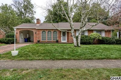 Camp Hill Single Family Home For Sale: 1808 Pine St