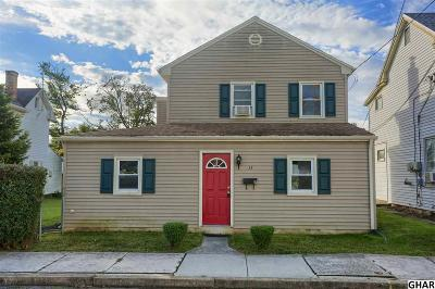 Mechanicsburg Single Family Home For Sale: 15 W Factory St