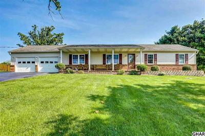 Mechanicsburg Single Family Home For Sale: 1272 Brandt Rd