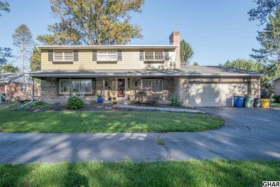 Camp Hill Single Family Home For Sale: 1713 Cedar Cliff Dr