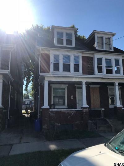 Harrisburg Single Family Home For Sale: 603 Seneca Street