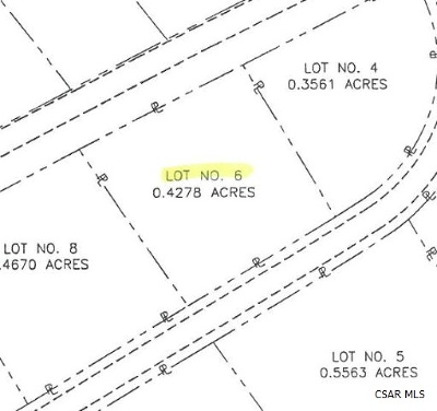 Residential Lots & Land For Sale: Glade View Drive #6