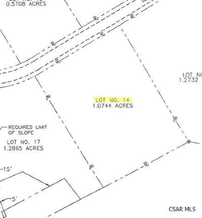 Residential Lots & Land For Sale: Glade View Drive #14