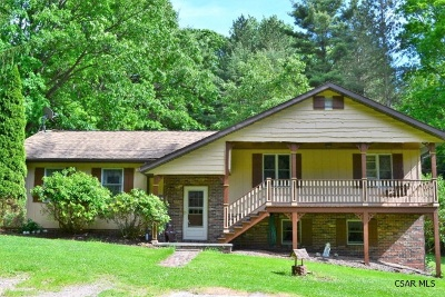 Single Family Home For Sale: 175 Eagle Hill Road
