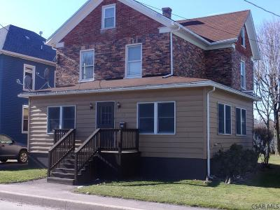 Berlin PA Single Family Home For Sale: $86,900