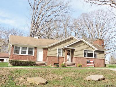 Single Family Home For Sale: 210 W Bakersville Edie Rd