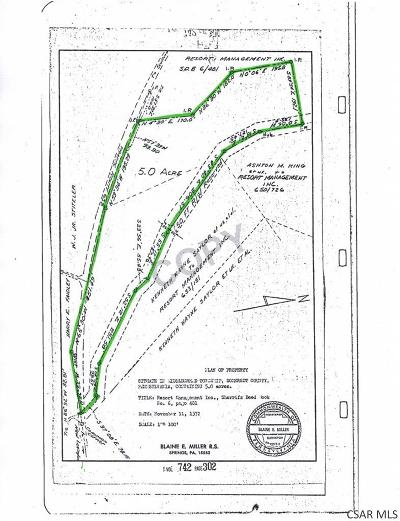 Rockwood PA Residential Lots & Land For Sale: $47,900