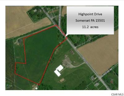 somerset Residential Lots & Land For Sale: Highpoint Drive