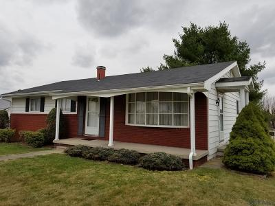 Single Family Home For Sale: 412 Patton Street
