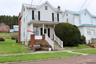 Single Family Home For Sale: 325 Sherman Street