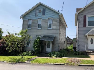Single Family Home For Sale: 264 E Union Street