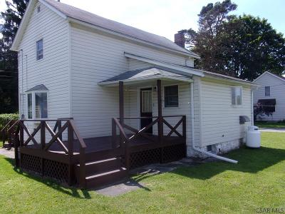 Central City PA Single Family Home For Sale: $39,900